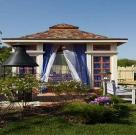 Пурпурный дворец. Беседка с террасой для дикого сада 5
